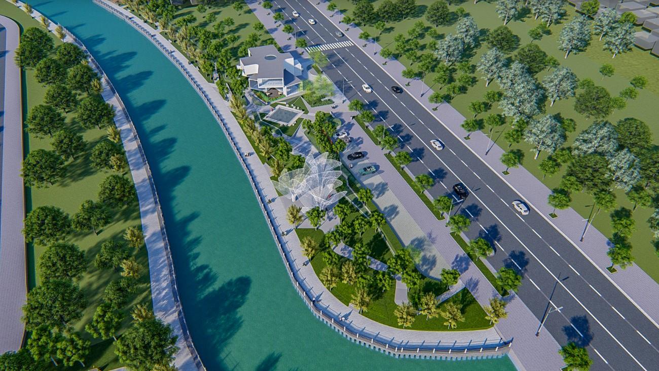 Tiện ích dự án Nhà phố Diamond Central Biên Hòa Đường Võ Thị Sáu chủ đầu tư Gotec Land