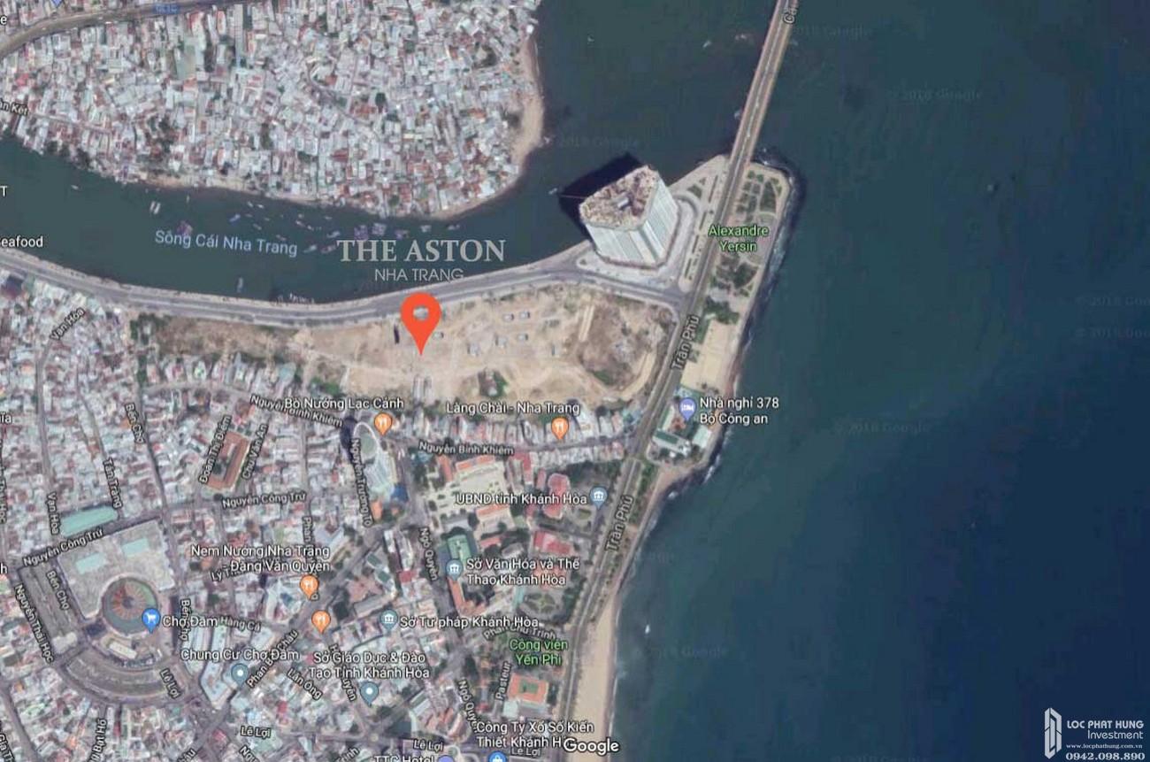 Vị trí địa chỉ dự án căn hộ chung cư The Aston Nha Trang Đường Xóm Cồn chủ đầu tư DKRH