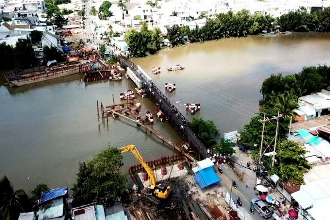 """Cầu Long Kiểng hoàn thành sớm, La Partenza Nhà Bè sẽ """"thăng hạn"""""""