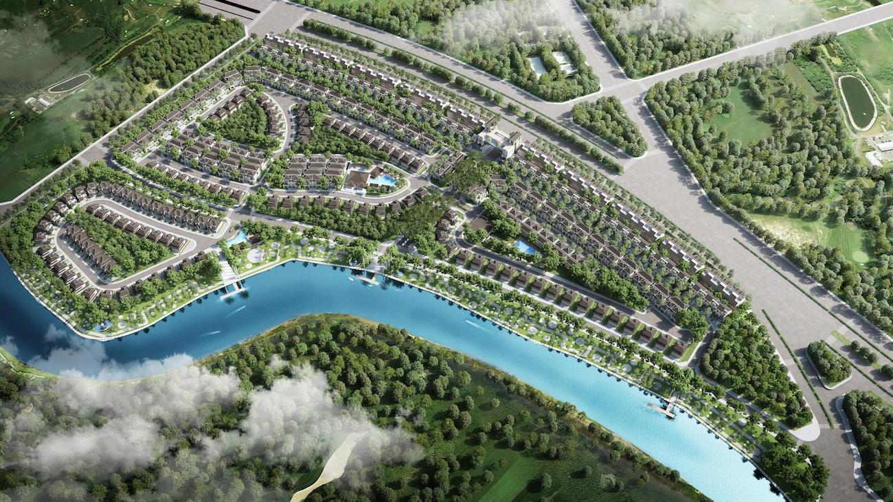 Tại Zeit River County 1, mảng xanh và các vật liệu thân thiện với môi trường luôn được ưu tiên
