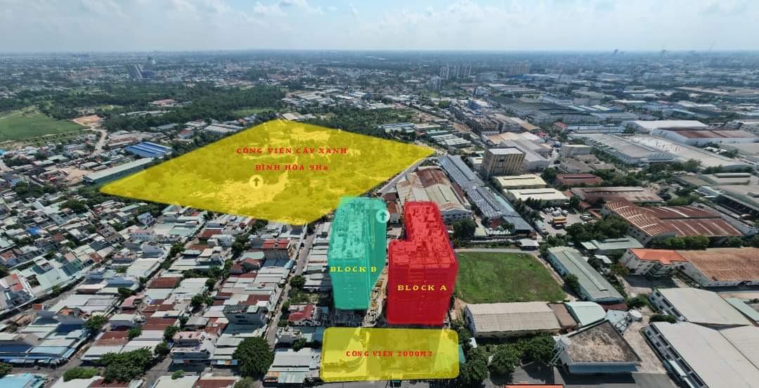 Vị trí vệ tinh dự án ParkView Thuận An