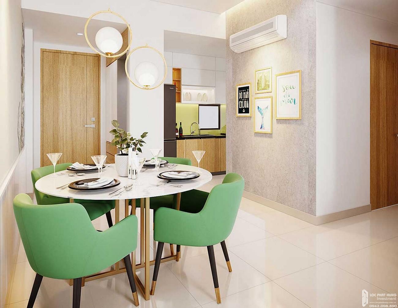 Bàn ăn căn hộ Icon Plaza Thuận An Bình Dương