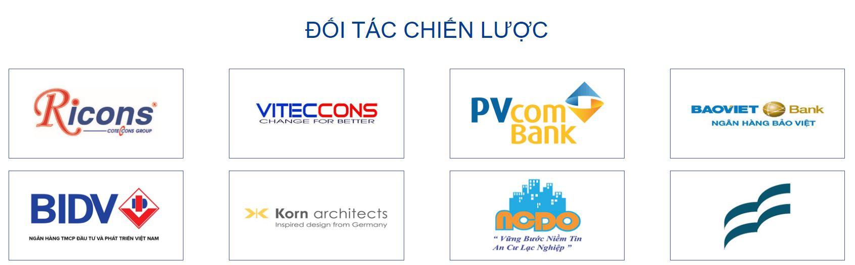 Các đối tác chiến lược của chủ đầu tư Phương Việt
