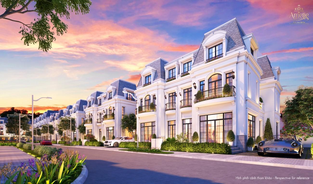 Nhà mẫu dự án biệt thự song lập Amelie Villa Phú Mỹ Hưng