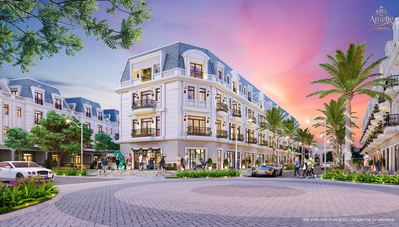 Shophouse Liền Kề dự án biệt thự Amelie Villa Phú Mỹ Hưng
