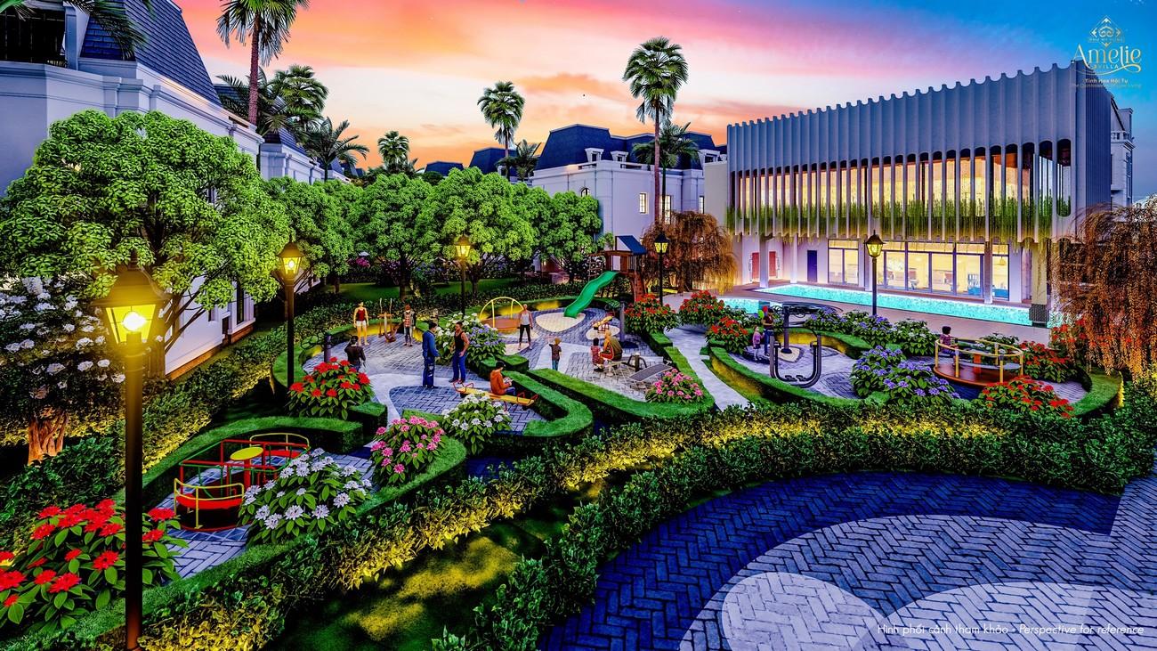 Tiện ích dự án biệt thự Amelie Villa Phú Mỹ Hưng