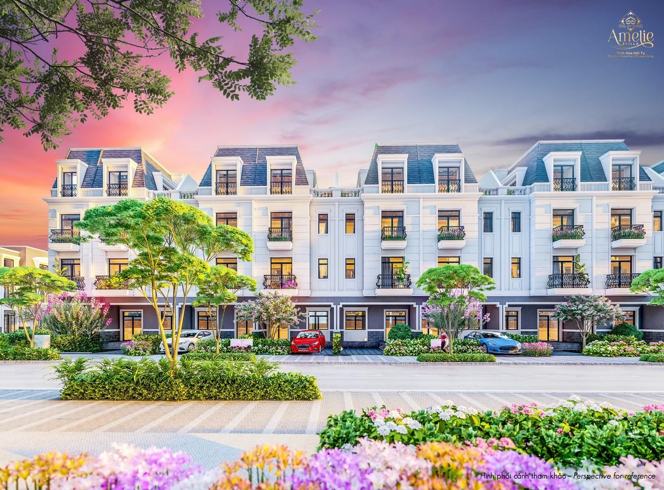 Nhà Liền Kề dự án biệt thự Amelie Villa Phú Mỹ Hưng