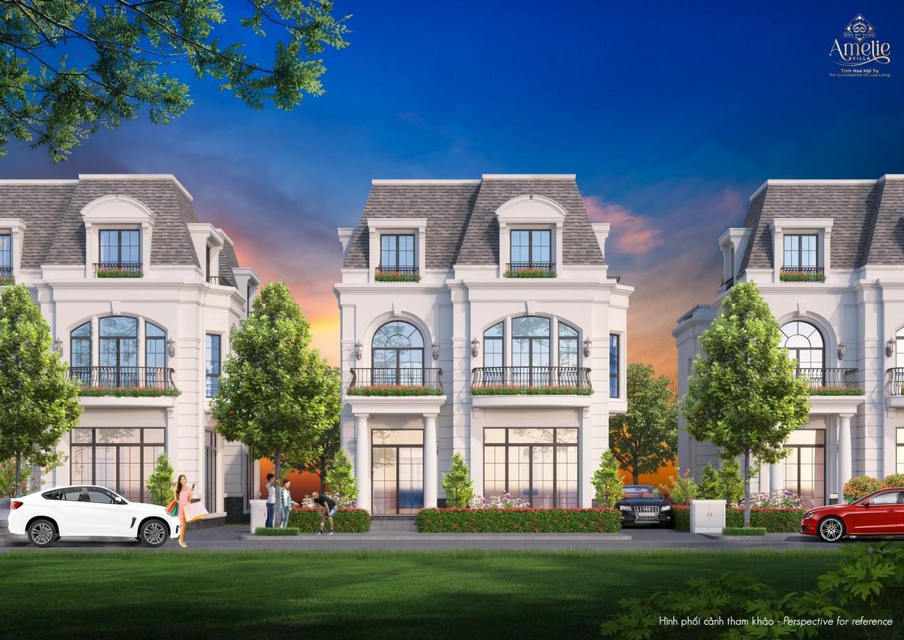 Nhà mẫu dự án biệt thự đơn lập Amelie Villa Phú Mỹ Hưng