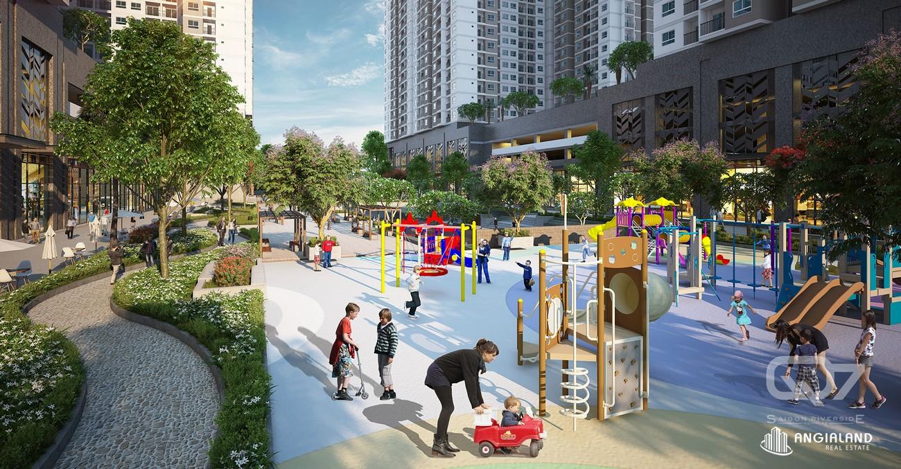 Công viên nội khu Q7 Riverside Complex