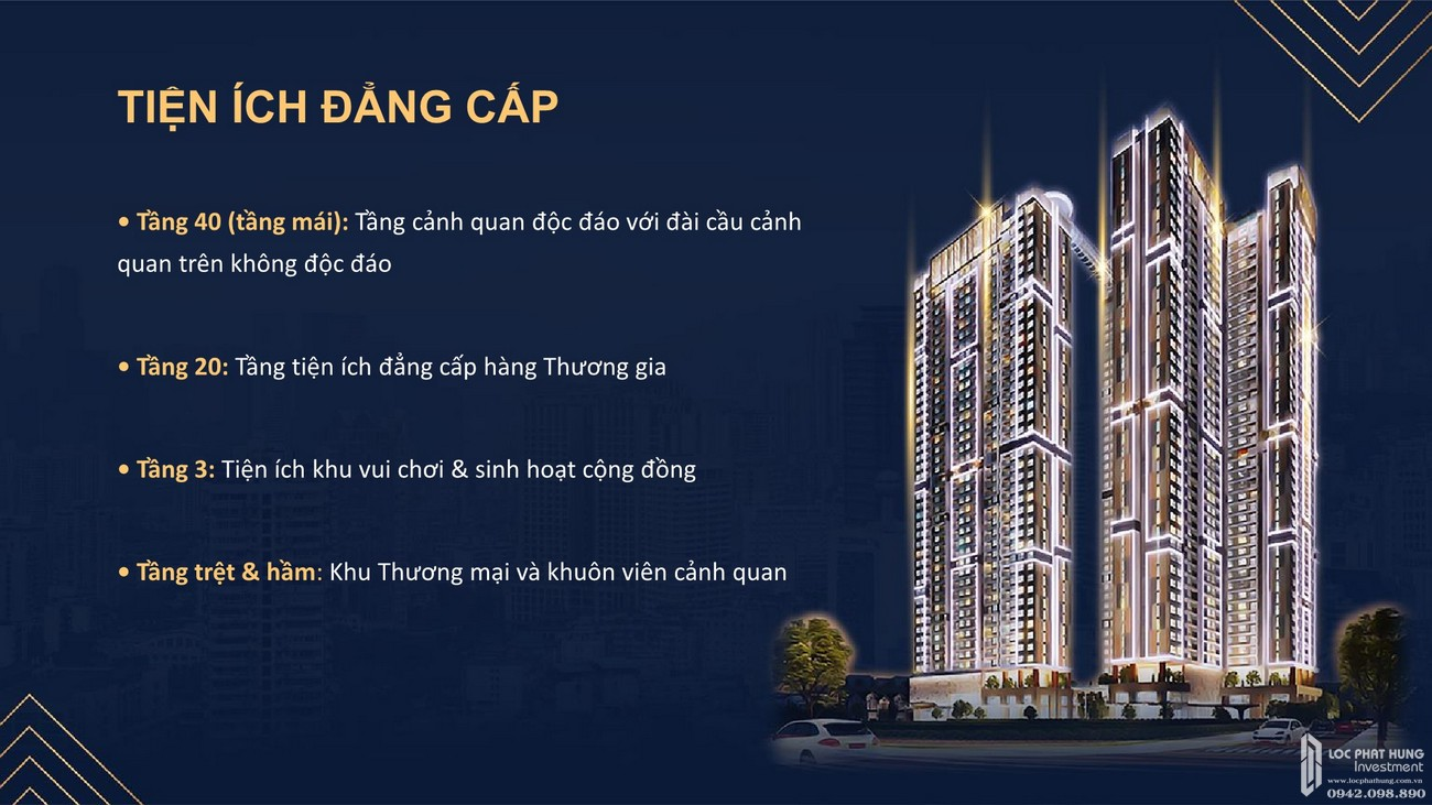 Tiện ích dự án Căn Hộ chung cư Happy One Central Phú Hòa Đường Đại Lộ Thủ Dầu Một chủ đầu tư Ốc Vạn Xuân
