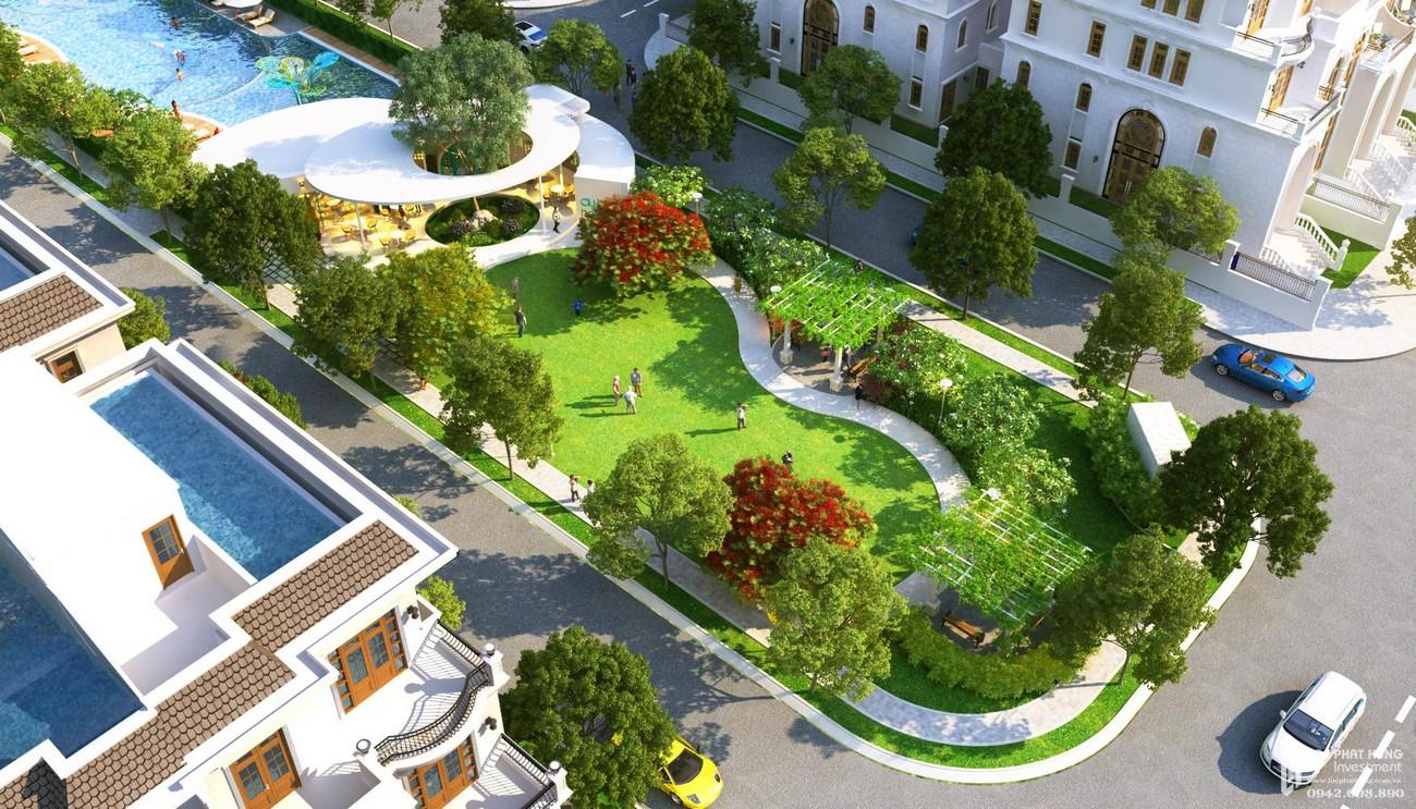 Tiện ích công viên dự án khu đô thị Vạn Phúc City