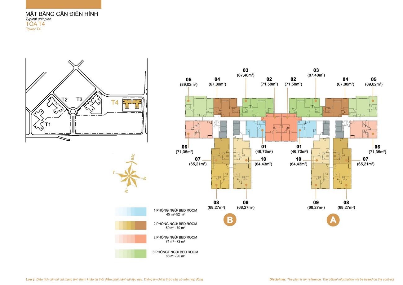 Mặt bằng dự án căn hộ chung cư Masteri Thảo Điền Quận 2 Đường Xa Lộ Hà Nội chủ đầu tư Masterise Homes