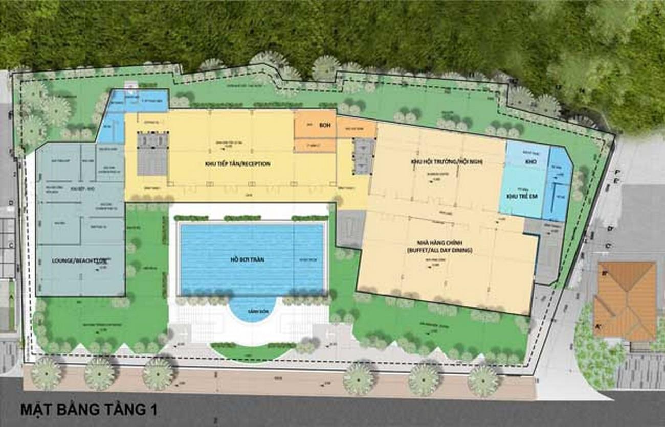 Mặt bằng dự án căn hộ Leman Cap Residence