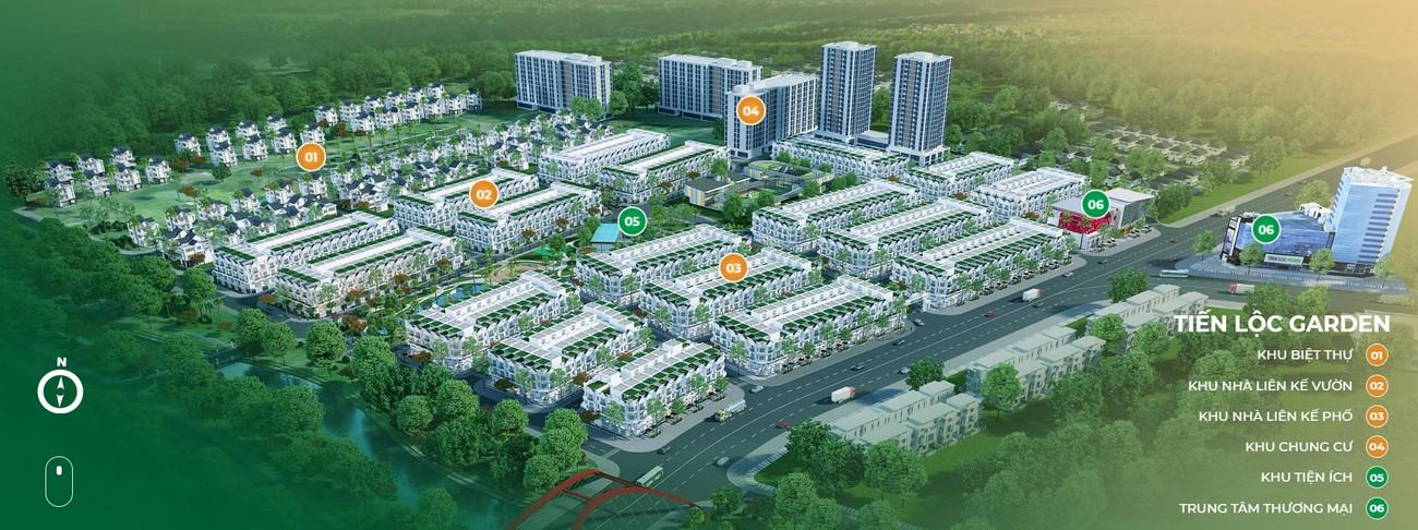 Mặt bằng dự án nhà phố Valerich Nhơn Trạch Đồng Nai