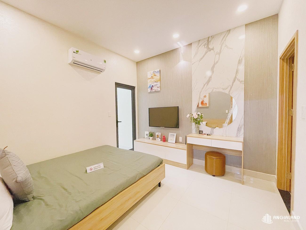 Phòng ngủ 2 nhà mẫu 59m2 Parkview Apartment Thuận An Bình Dương