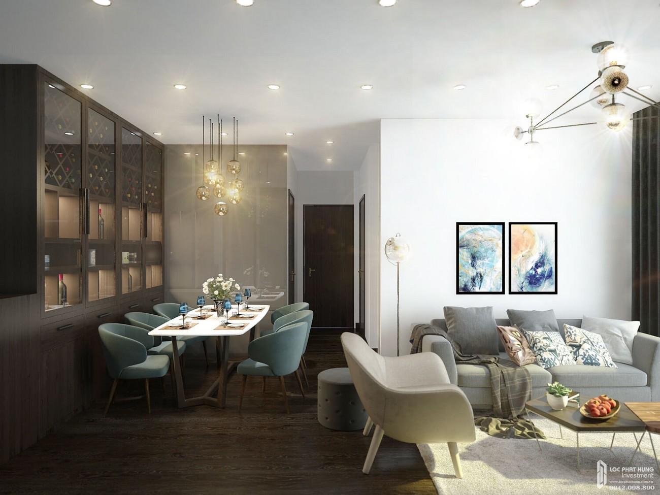 Toilet căn hộ Opal Skyline Bình Dương Đường Nguyễn Văn Tiết chủ đầu tư Đất Xanh Group