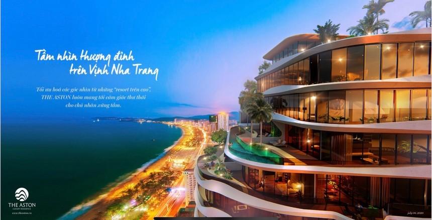 Phối cảnh dự án căn hộ The Aston Nha Trang
