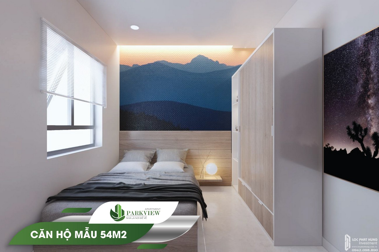 Nhà mẫu dự án căn hộ chung cư Parkview Apartment 54m2 Thuận An