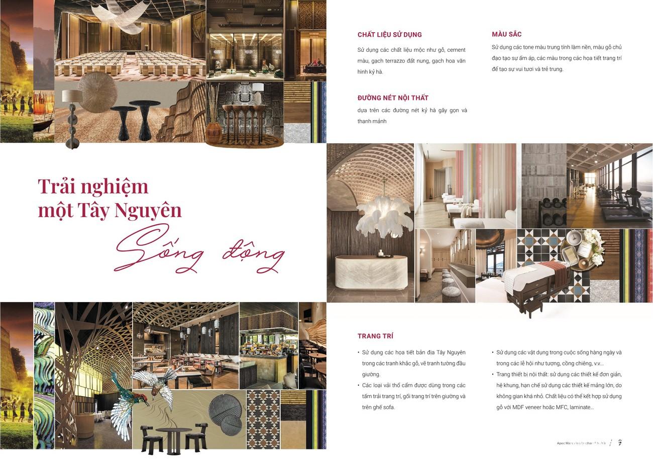 Nội thất dự án căn hộ condotel Apec Mandala Wyndham Phú Yên chủ đầu tư Apec