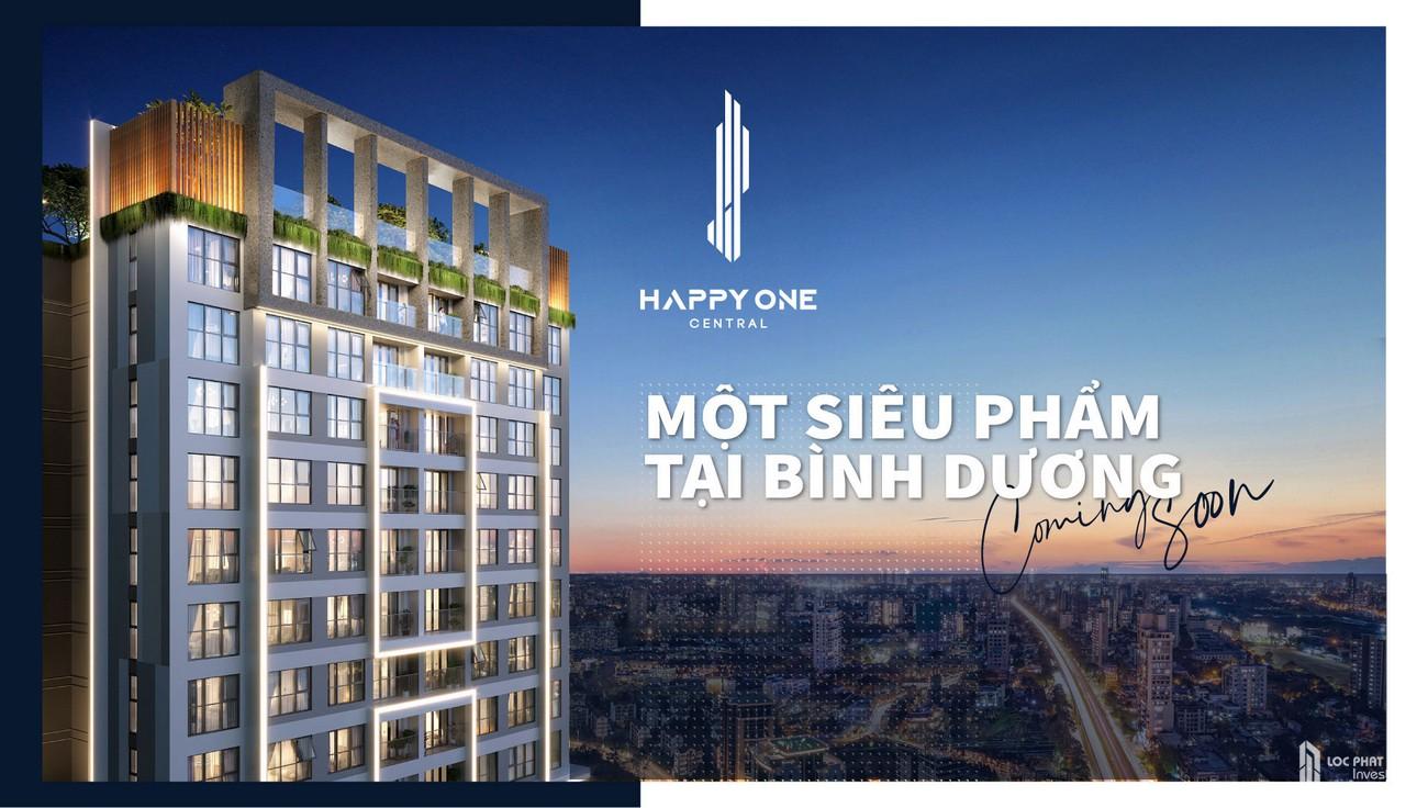 Phối cảnh tổng thể dự án Căn Hộ chung cư Happy One Central Phú Hòa Đường Đại Lộ Thủ Dầu Một chủ đầu tư Ốc Vạn Xuân