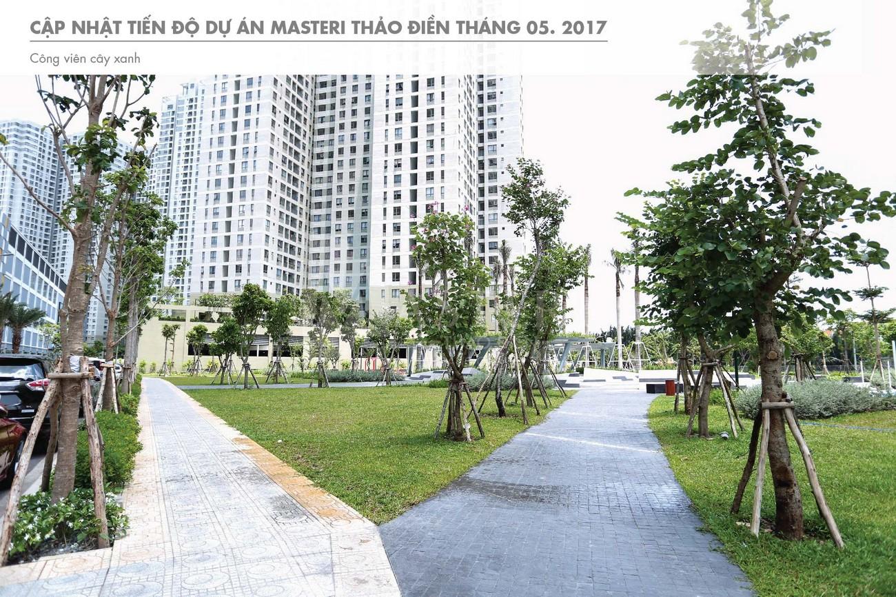 Thực tế tổng thể dự án căn hộ chung cư Masteri Thảo Điền Quận 2 Đường Xa Lộ Hà Nội chủ đầu tư Masterise Homes
