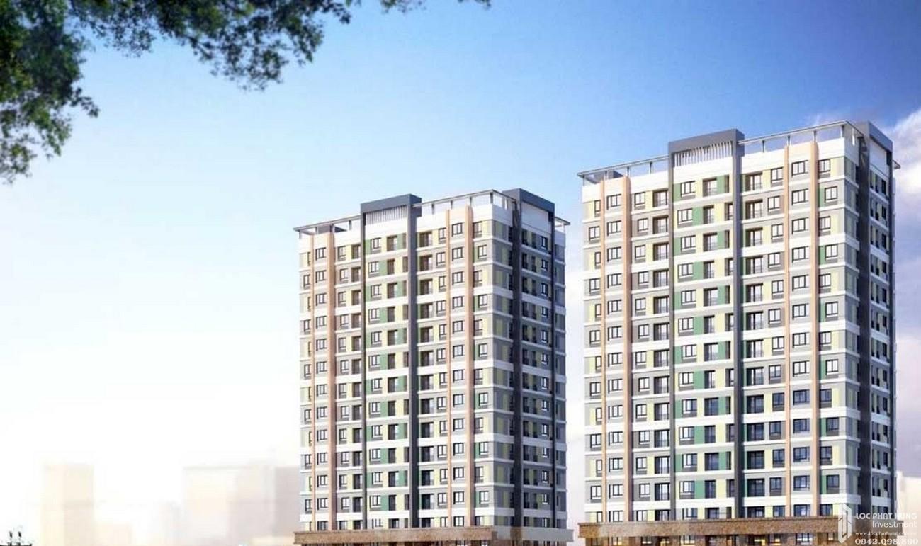 Phối cảnh tổng thể dự án căn hộ chung cư Icon Plaza Bình Dương chủ đầu tư Phú Hồng Thịnh