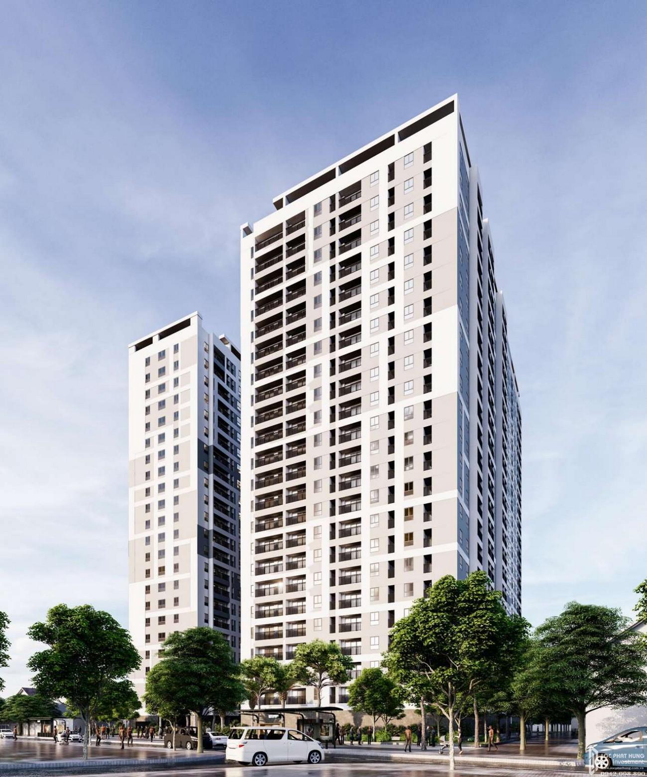 Phối cảnh tổng thể dự án căn hộ chung cư Parkview Apartment Thuận An