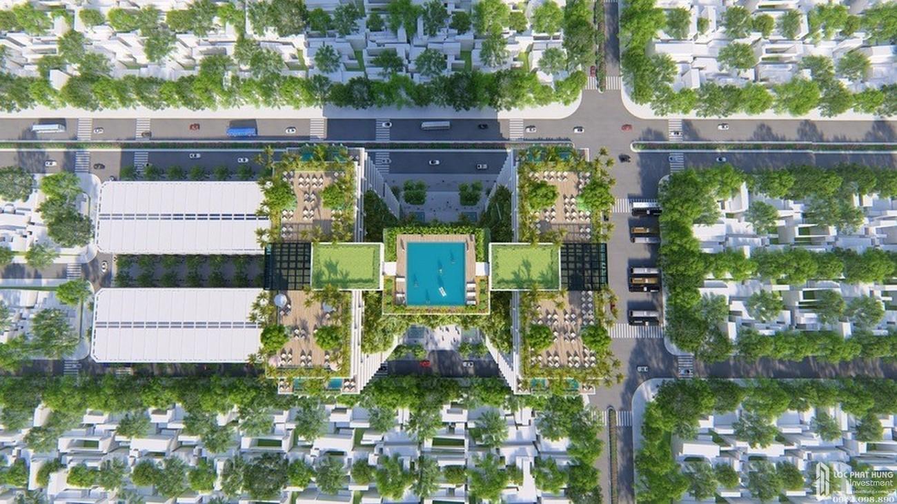 Phối cảnh tổng thể dự án căn hộ condotel Apec Mandala Wyndham Phú Yên chủ đầu tư Apec
