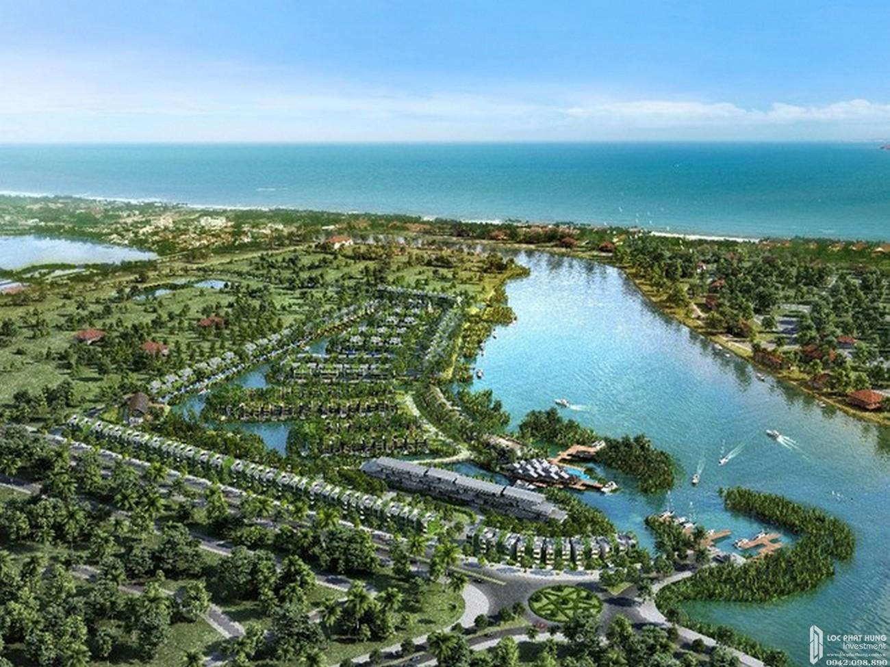Phối cảnh tổng thể dự án khu đô thị Casamia Hội An chủ đầu tư Đạt Phương