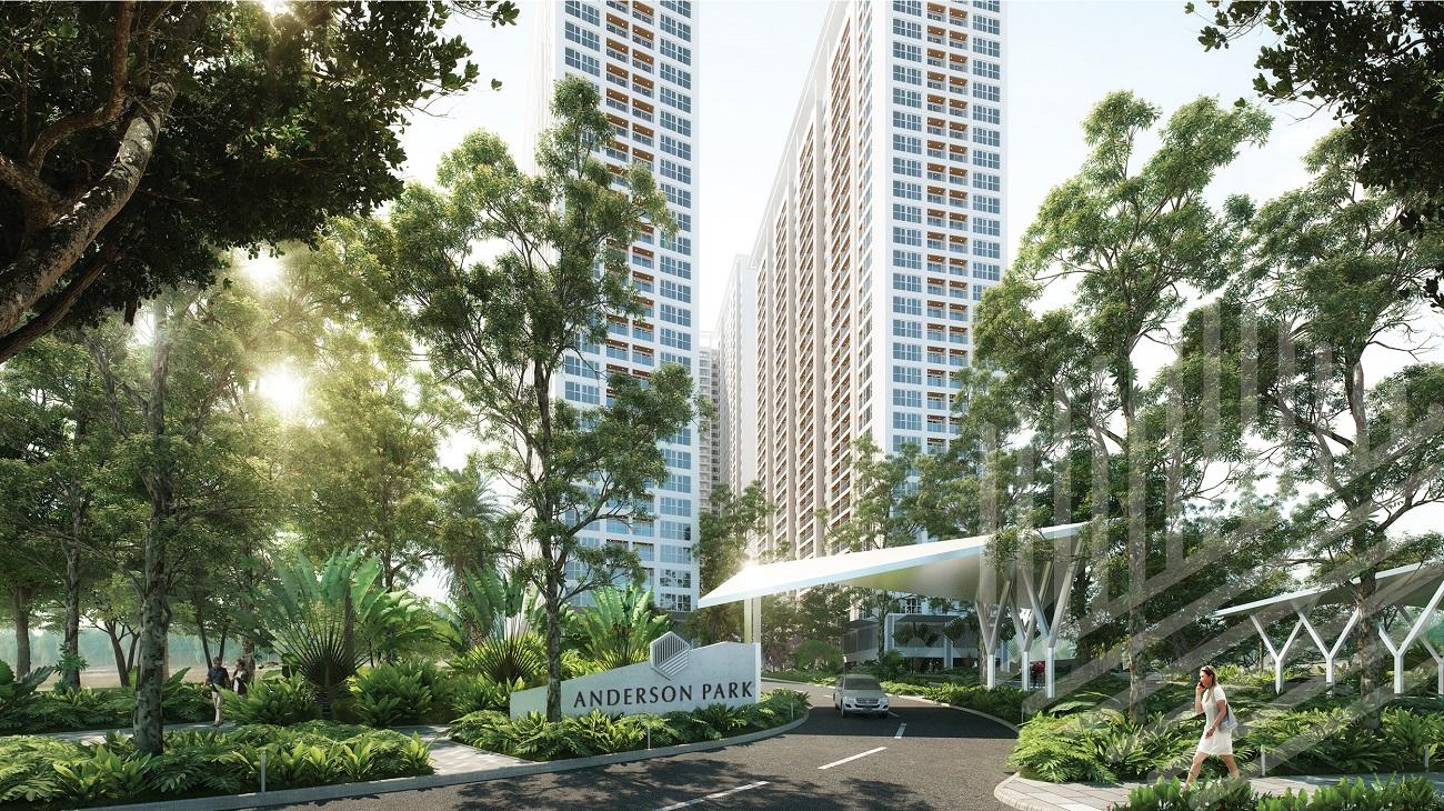 Phối cảnh tổng thể dự án căn hộ chung cư Anderson Park Bình Dương