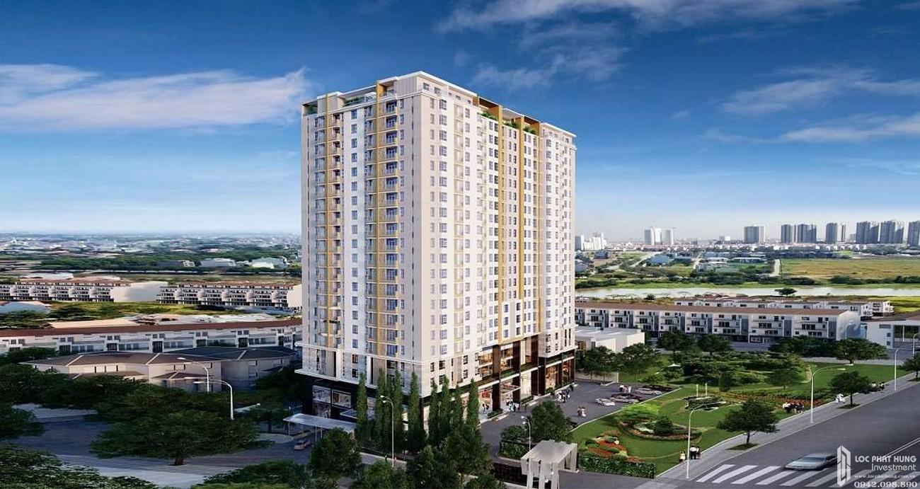 Phối cảnh tổng thể dự án căn hộ De Capella
