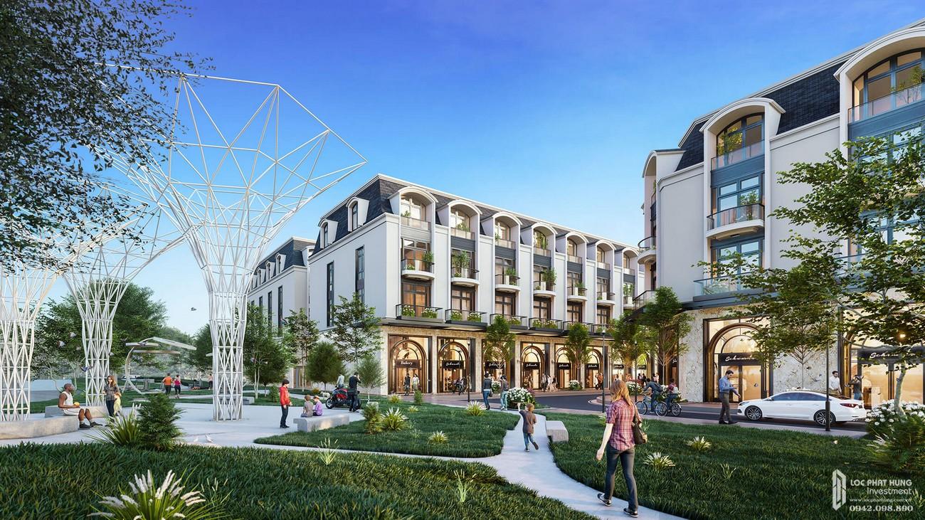 Giới thiệu về dự án nhà phố Diamond Central