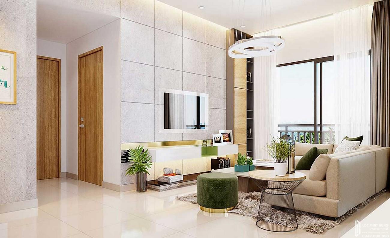 Phòng khách căn hộ Icon Plaza Thuận An Bình Dương