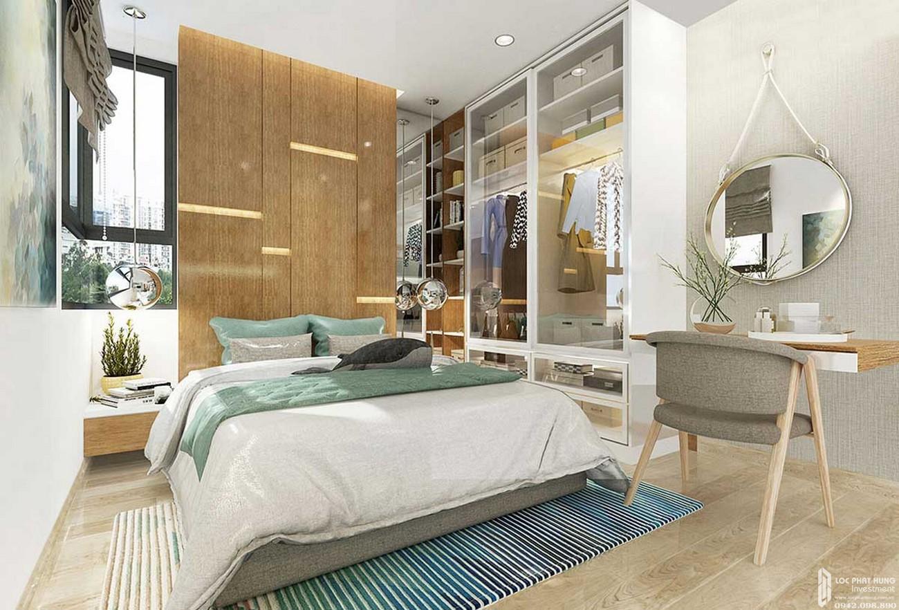 Phòng ngủ căn hộ Icon Plaza Thuận An Bình Dương