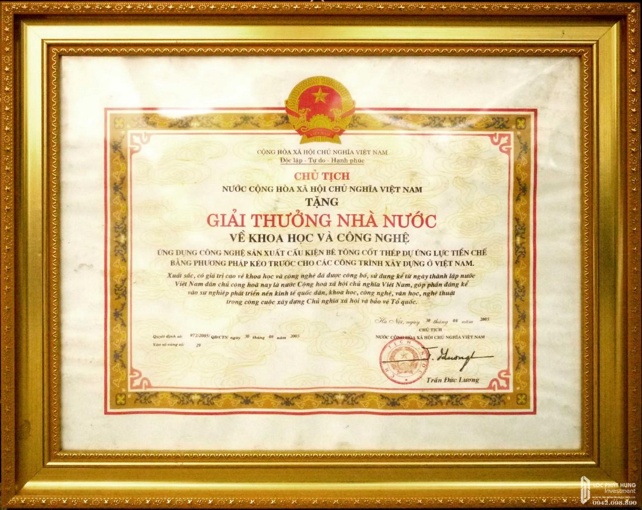 Thành tựu đạt được của chủ đầu tư Xuân Mai Corp