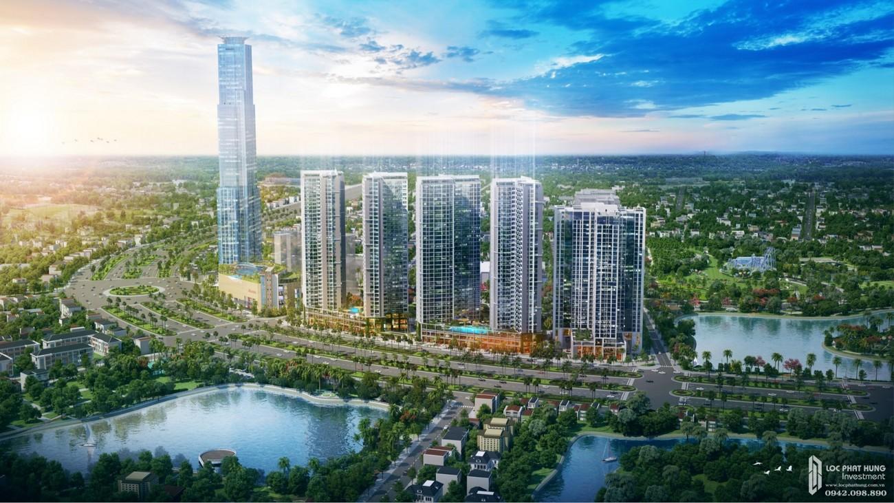 Phối cảnh tổng thể dự án Eco Green Sài Gòn chủ đầu tư Xuân Mai Corp
