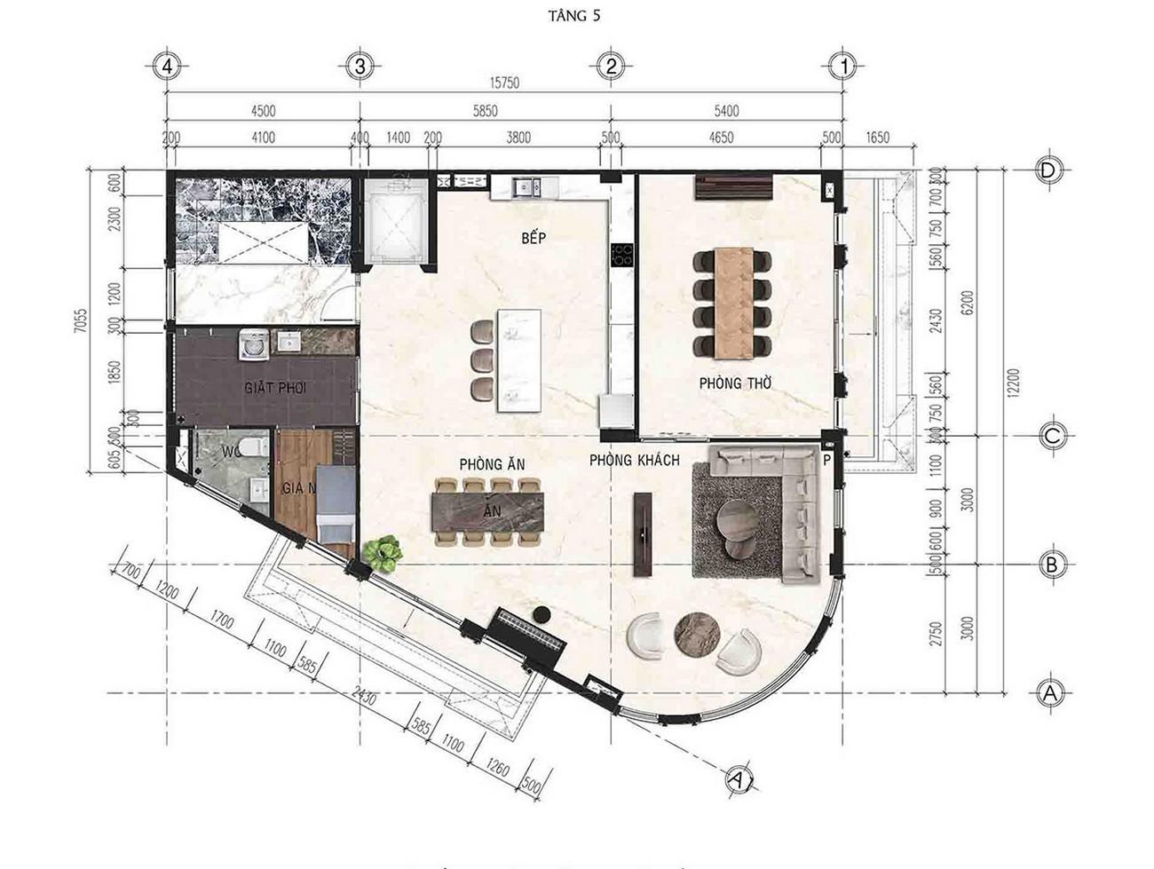 Thiết kế Premium Shophouse Royal Vạn Phúc Khu Đô Thị Vạn Phúc City Quận Thủ Đức Đường Quốc lộ 13 chủ đầu tư Vạn Phúc Group