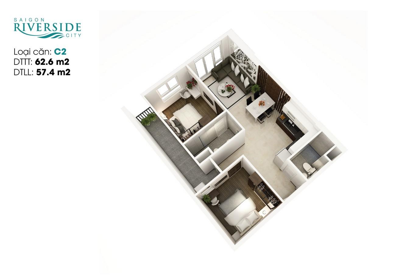 Thiết kế dự án căn hộ chung cư LDG River Quận Thủ Đức Đường 623 Quốc lộ 13 chủ đầu tư LDG Group