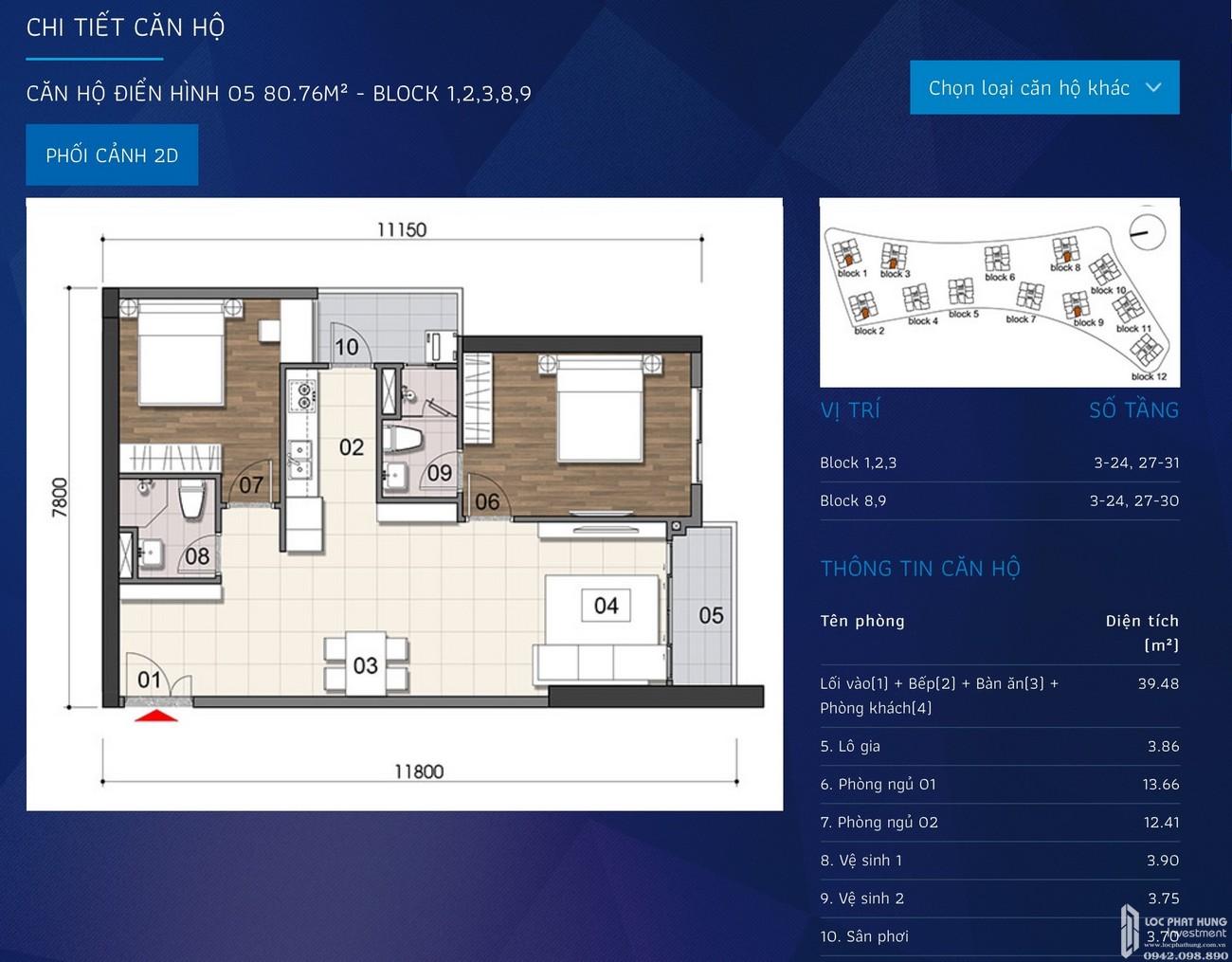 Thiết kế dự án căn hộ chung cư Opal Cityview Bình Dương chủ đầu tư Đất Xanh