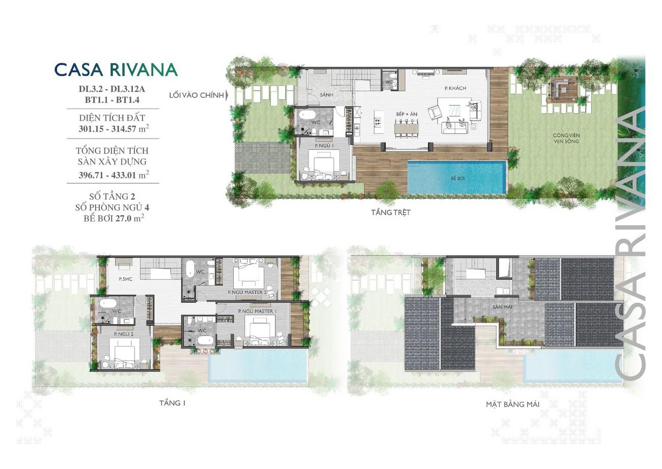 Thiết kế dự án khu đô thị Casamia Hội An chủ đầu tư Đạt Phương