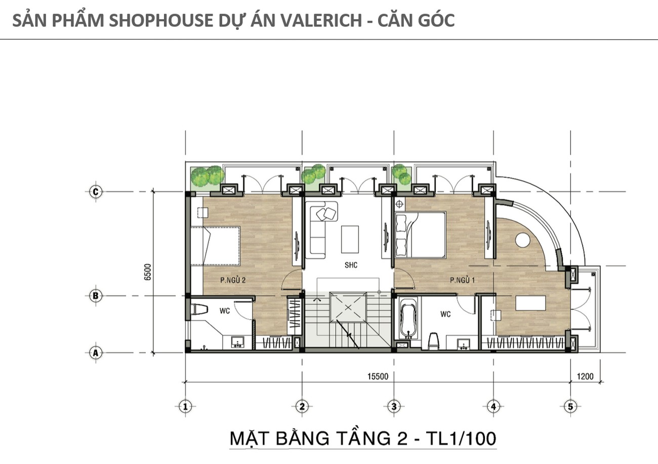 Thiết kế dự án nhà phố Valerich Nhơn Trạch Đồng Nai