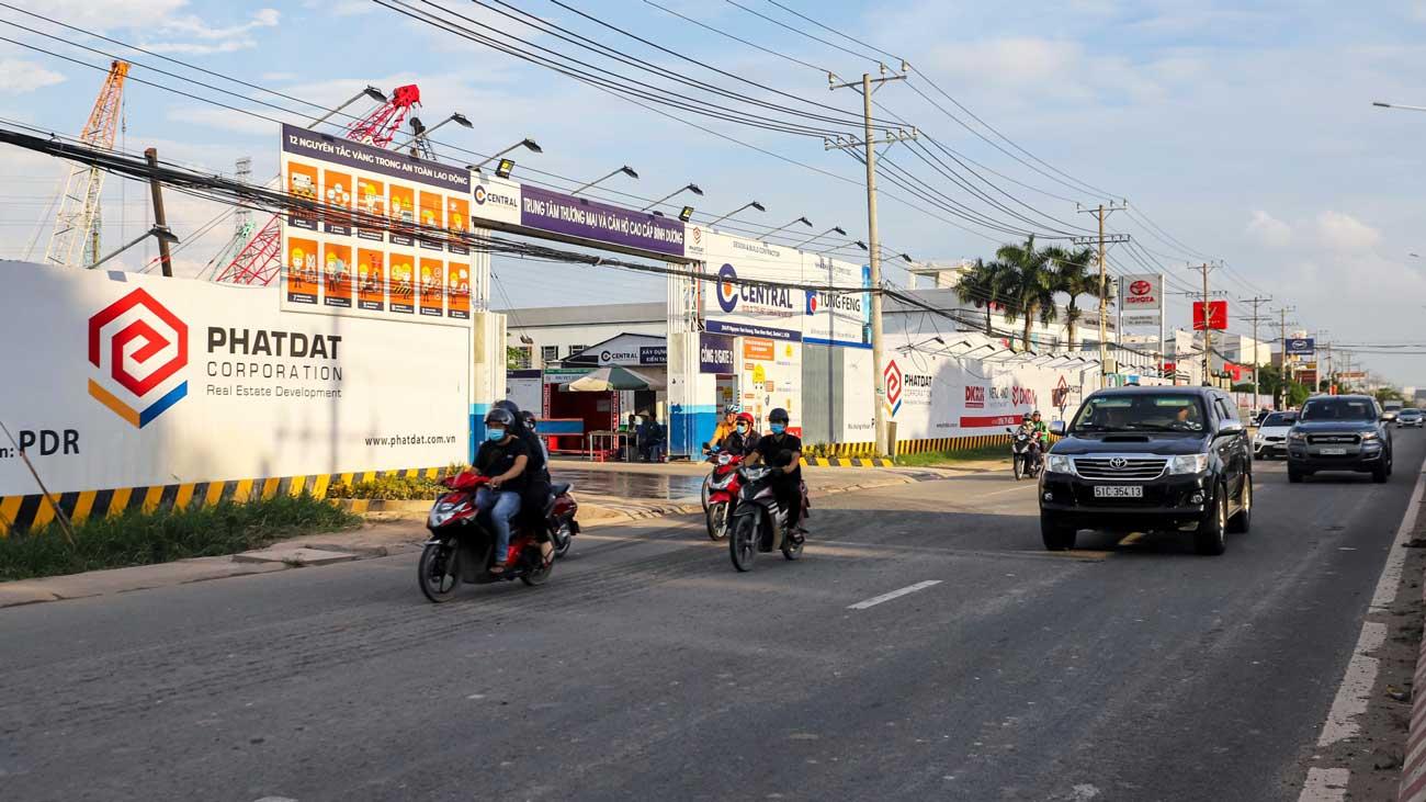 Tiến độ Astral City Bình Dương Đường Quốc lộ 13 chủ đầu tư Phát Đạt Group tháng 7/2020