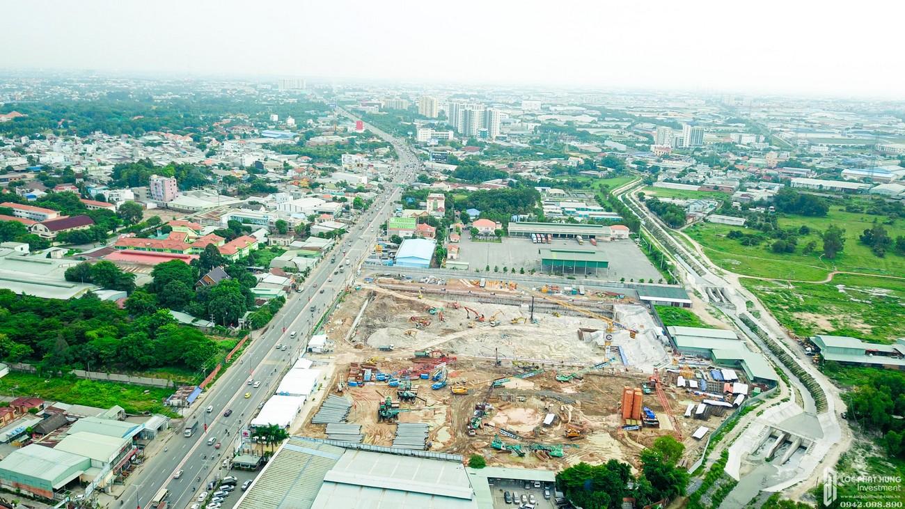 Tiến độ dự án căn hộ chung cư Astral City Thuận An Đường Quốc lộ 13 chủ đầu tư Phát Đạt Group tháng 7/2020