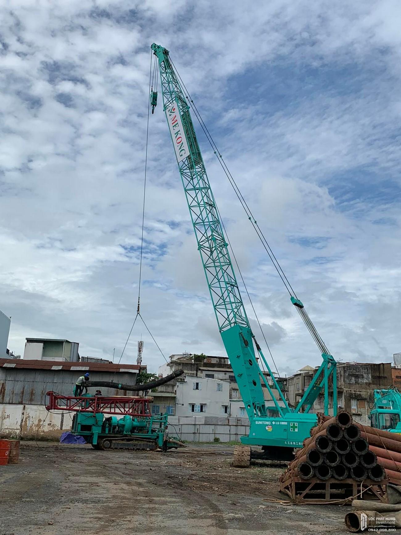 Tiến độ xây dựng dự án căn hộ chung cư D Homme tháng 07/2020