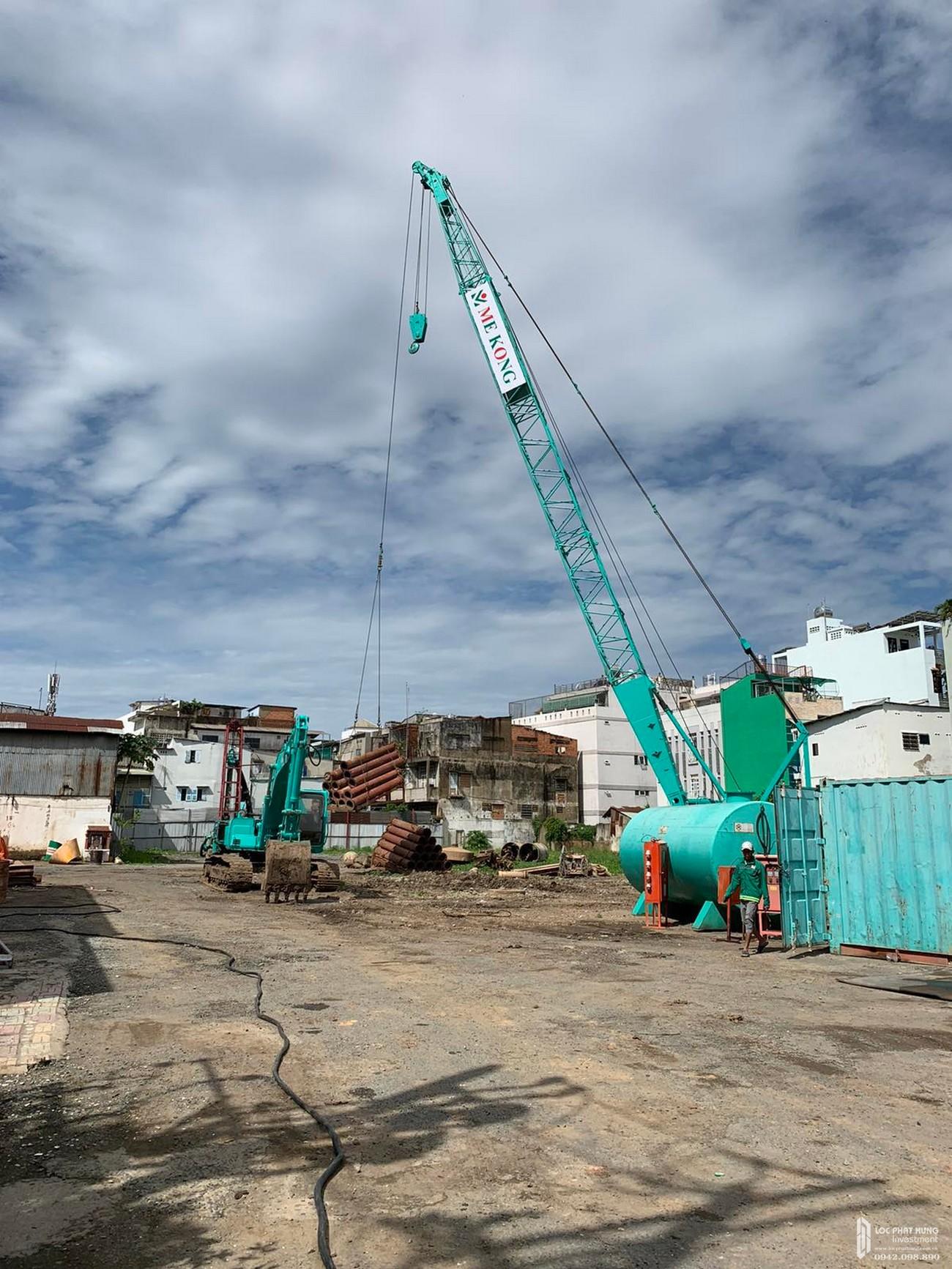Tiến độ dự án căn hộ chung cư D Homme Quận 6 Đường Hồng Bàng chủ đầu tư DHA