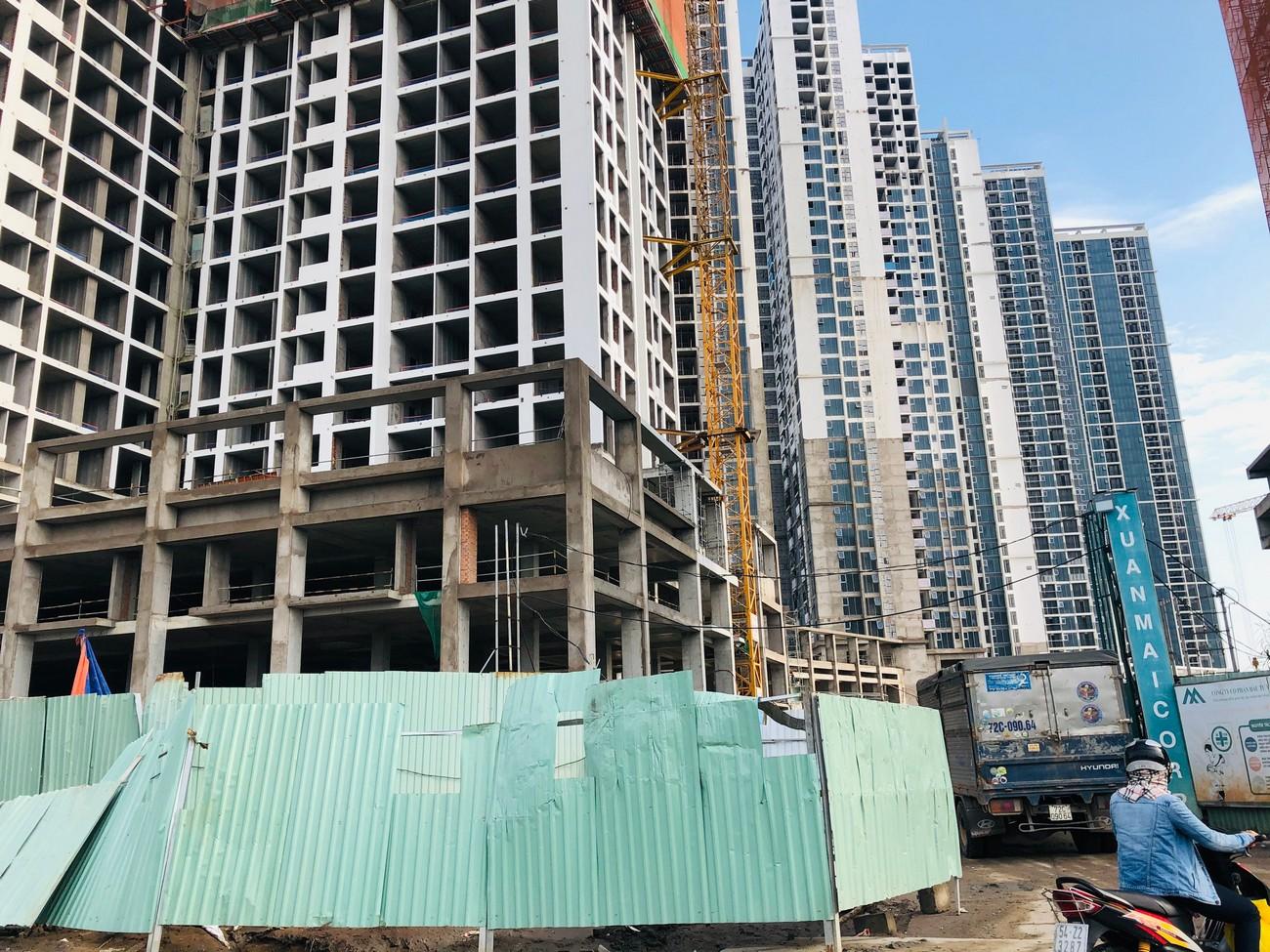 Tiến độ dự án căn hộ chung cư Eco Green Sài Gòn Quận 7 Đường Nguyễn Văn Linh chủ đầu tư Xuân Mai 06/07/2020