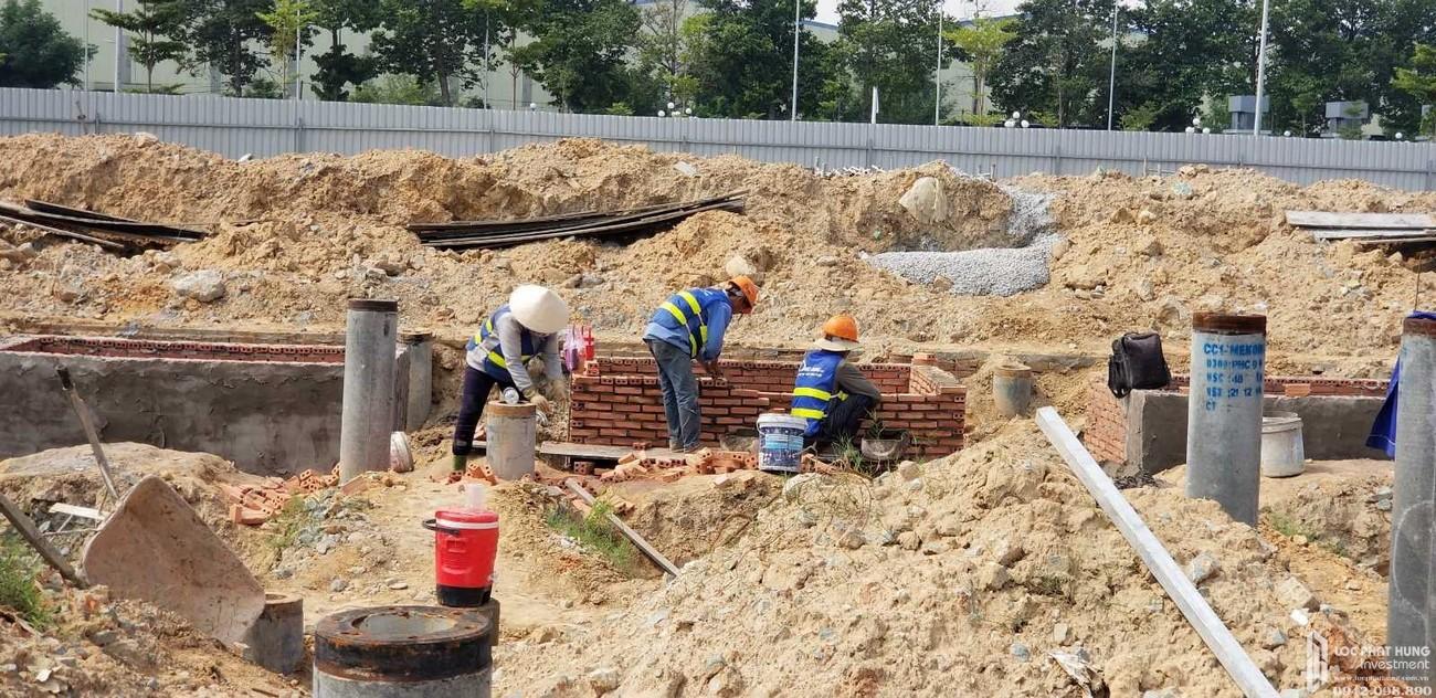 Tiến độ dự án đất nền nhà phố Icon Central Dĩ An Bình Dương chủ đầu tư Phú Hồng Thịnh
