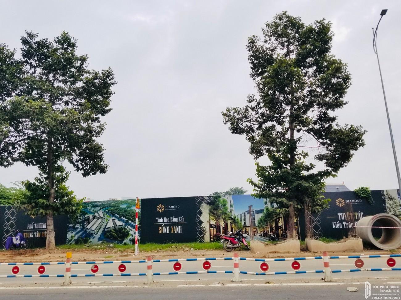Tiến độ dự án Nhà phố Diamond Central Biên Hòa Đường Võ Thị Sáu tháng 07/2020
