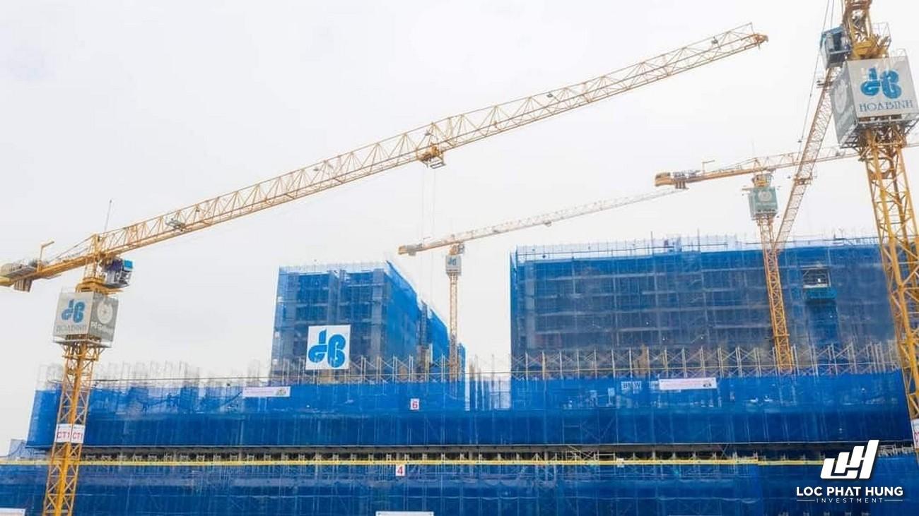 Tiến độ xây dựng Picity High Park tháng 06/2021