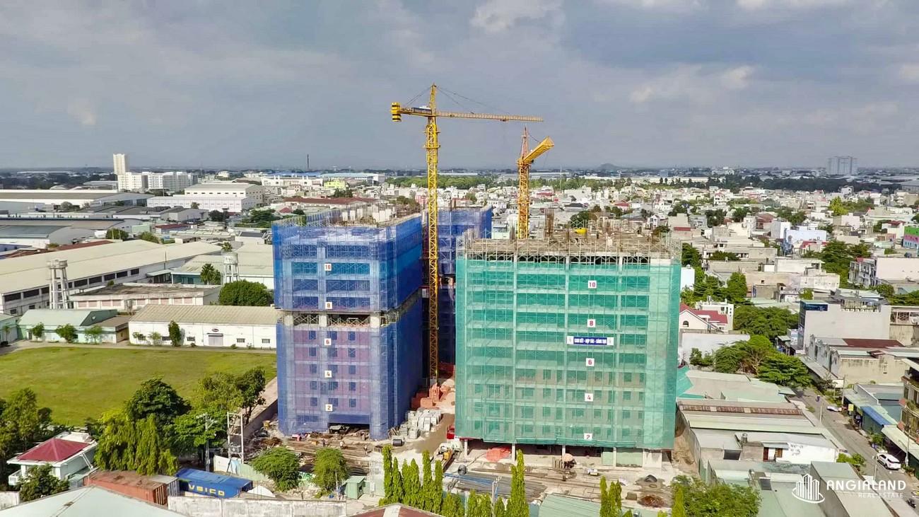 Tiến độ xây dựng Park View Thuận An Tháng 06/2021